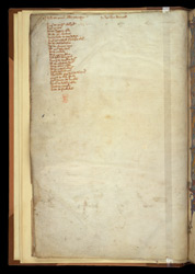 Ownership Inscription And List Of Contents, In A Volume Of Works By St. Augustine, St. John Of Damascus, And Others